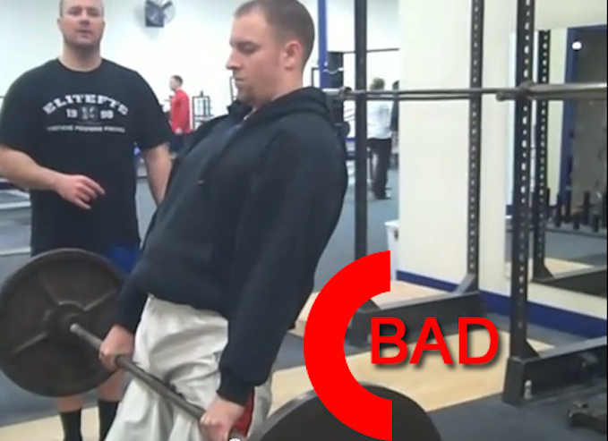deadlift mistakes hyperextend