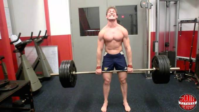 deadlift pushing