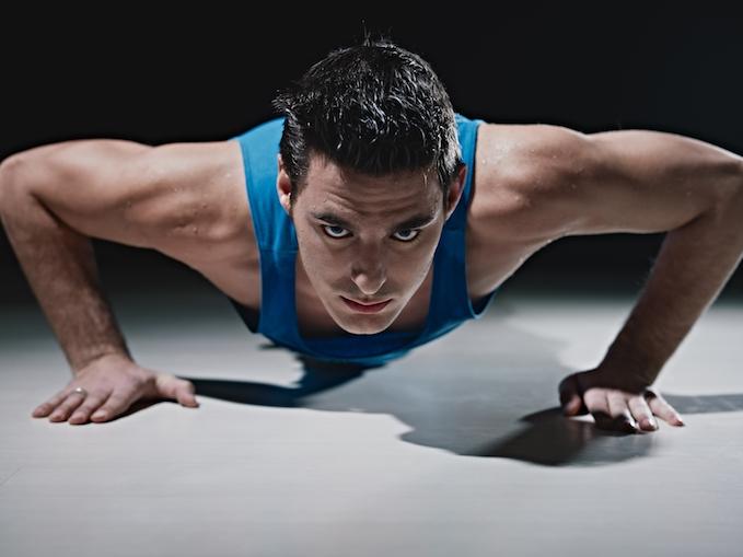 do push ups build muscle