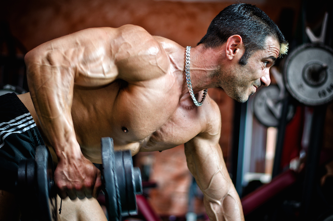 guy training for pump