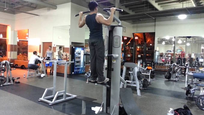 pull-ups assisted