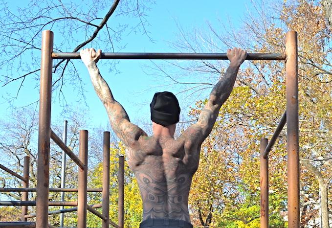 pull-ups dead hang