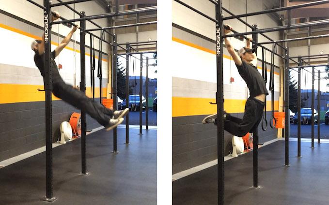 pull-ups momentum