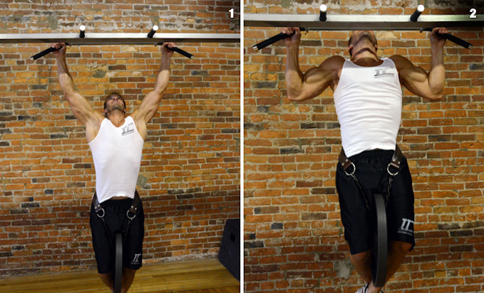 pull-ups weighted